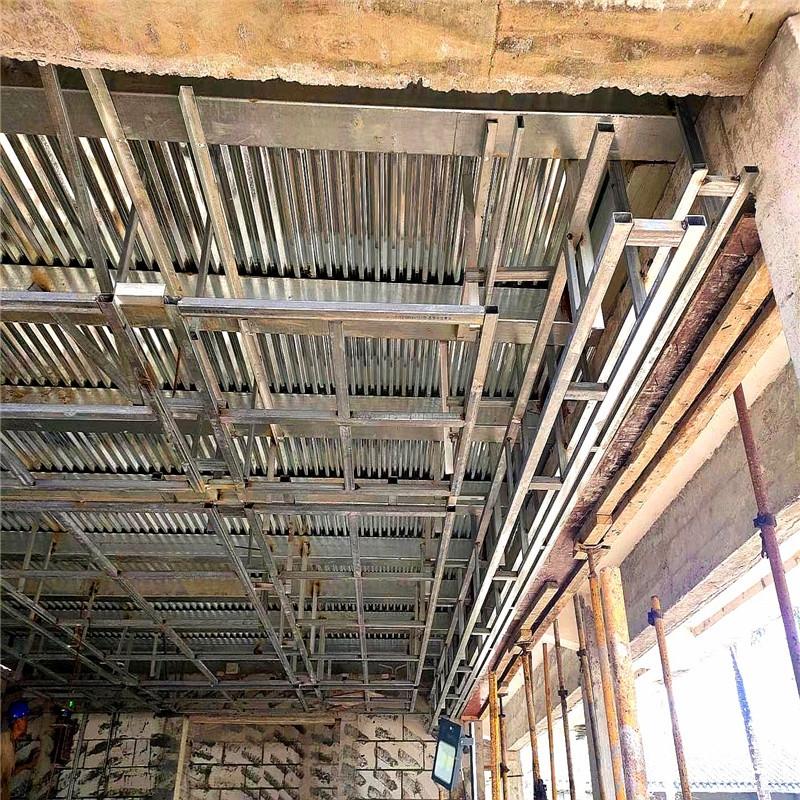 海南铝方通工地工程案例